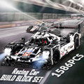 1586 PCS Proshes 919 Le Mans Racing Auto Model Bouwstenen Set 48 cm Compatibel Lego technic Serie Speelgoed gift voor kids