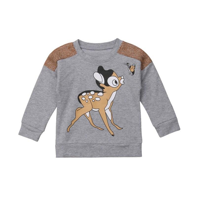Sweater Hoodies Baby-Boy-Girl Pullover Child Cartoon Autumn/winter New Kid Warm Cotton