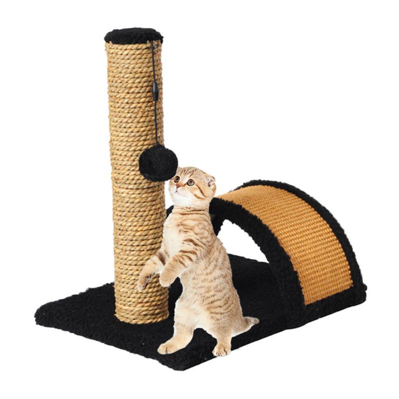 Lit pour animaux chat arbre chat cadre d'escalade arbre à chat Sisal griffoir jouet planche à gratter adapté aux petits chiens et chats