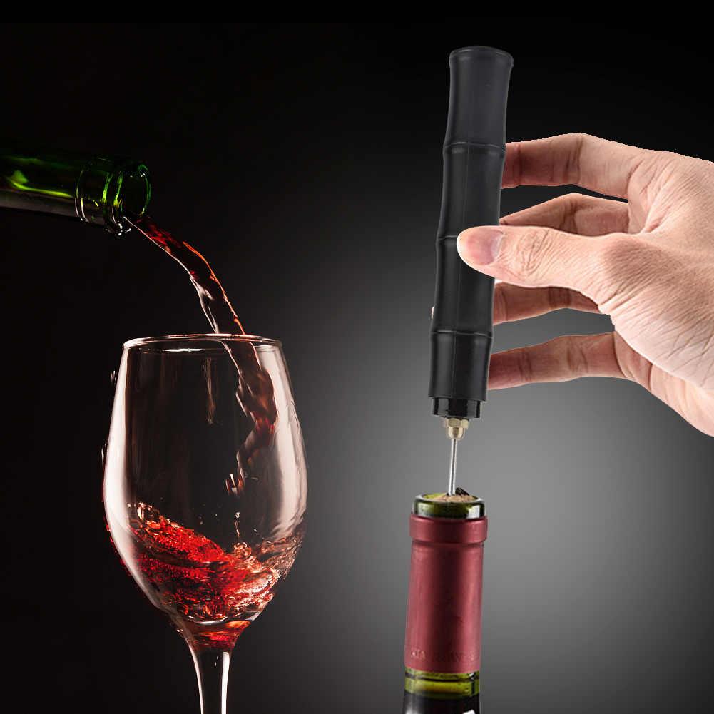 ความดันอากาศประเภทเปิดขวดไวน์สแตนเลสสตีลประเภท Corkscrew Cork Out ขวดไวน์ที่เปิดเครื่องมือ