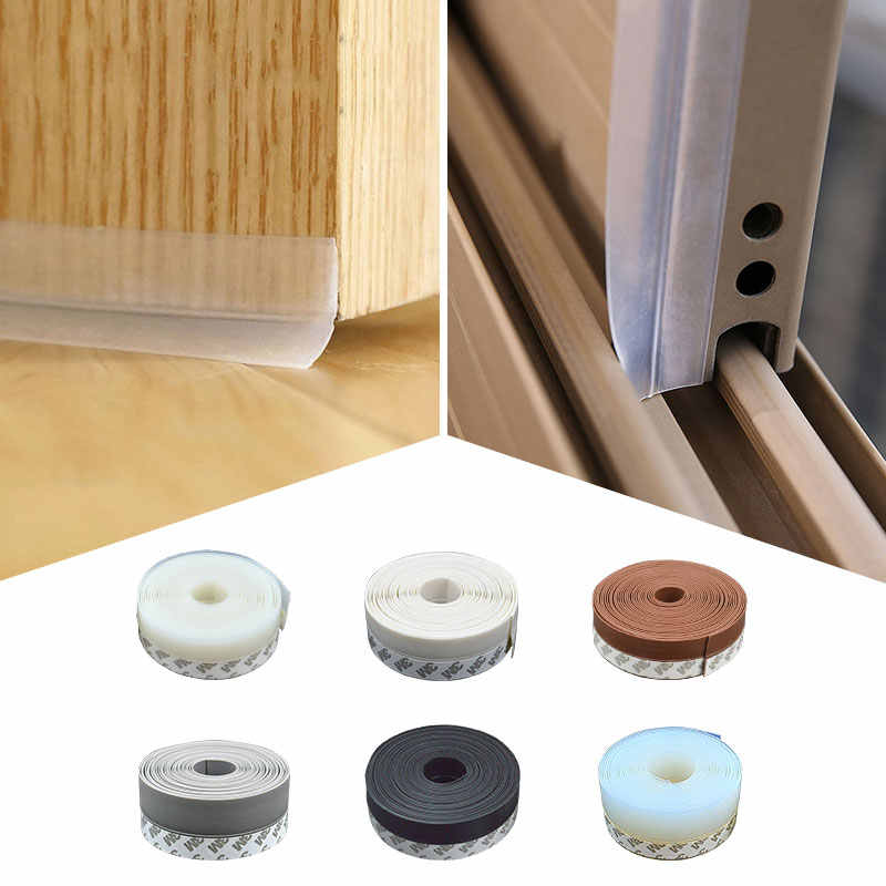 35 mm Width Multi-function Door Window Self Adhesive Glue Draught Dust Insect Seal Strip Soundproofing Weatherstrip Dropshipping