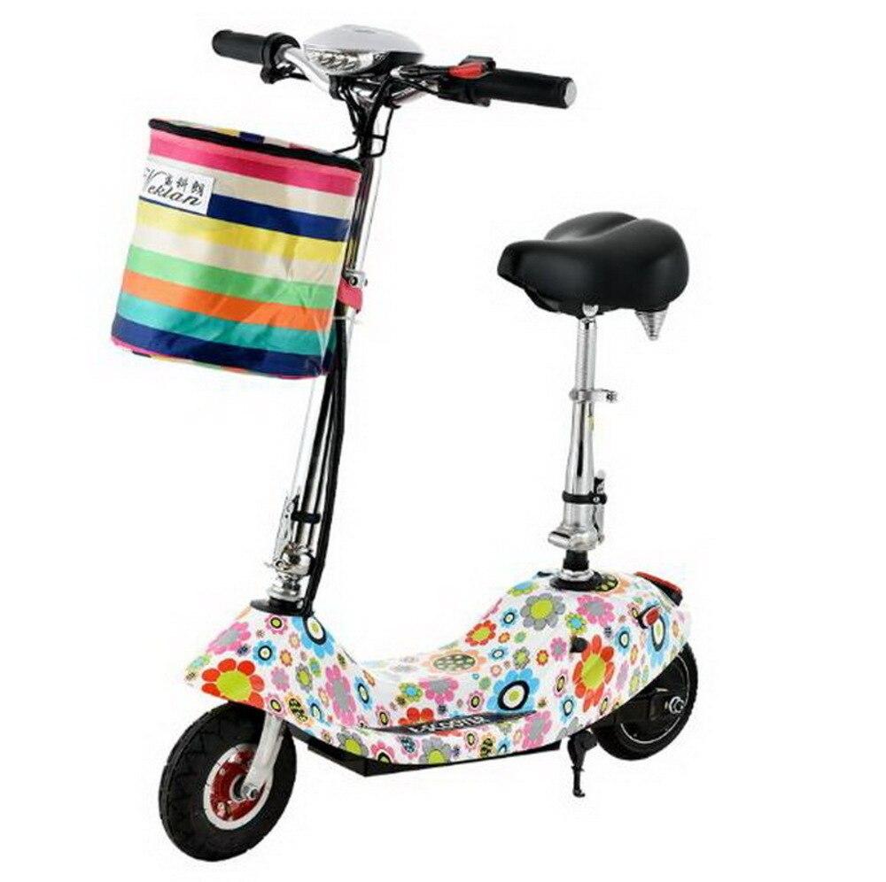 261011/Mini voiture électrique pliante/dames adulte mini vélo électrique/scooter batterie voiture/moteur fort/coussin confortable