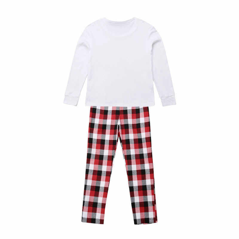 06c8fd68a2ff ... Family Matching Christmas Pajamas Set 2019 New Year  Father Mother Son Daughter Xmas Deer Printed Sleepwear Family Look Nightwear  ...