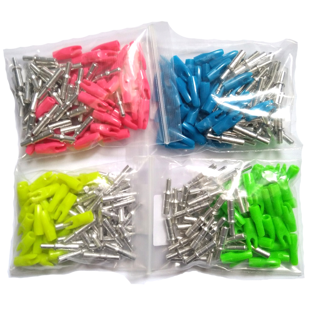 30pcs Linkboy Archery Arrow Pin Nock For ID4.2mm Carbon Arrows Fiberglass Arrow Shaft Bow And Arrows Shooting