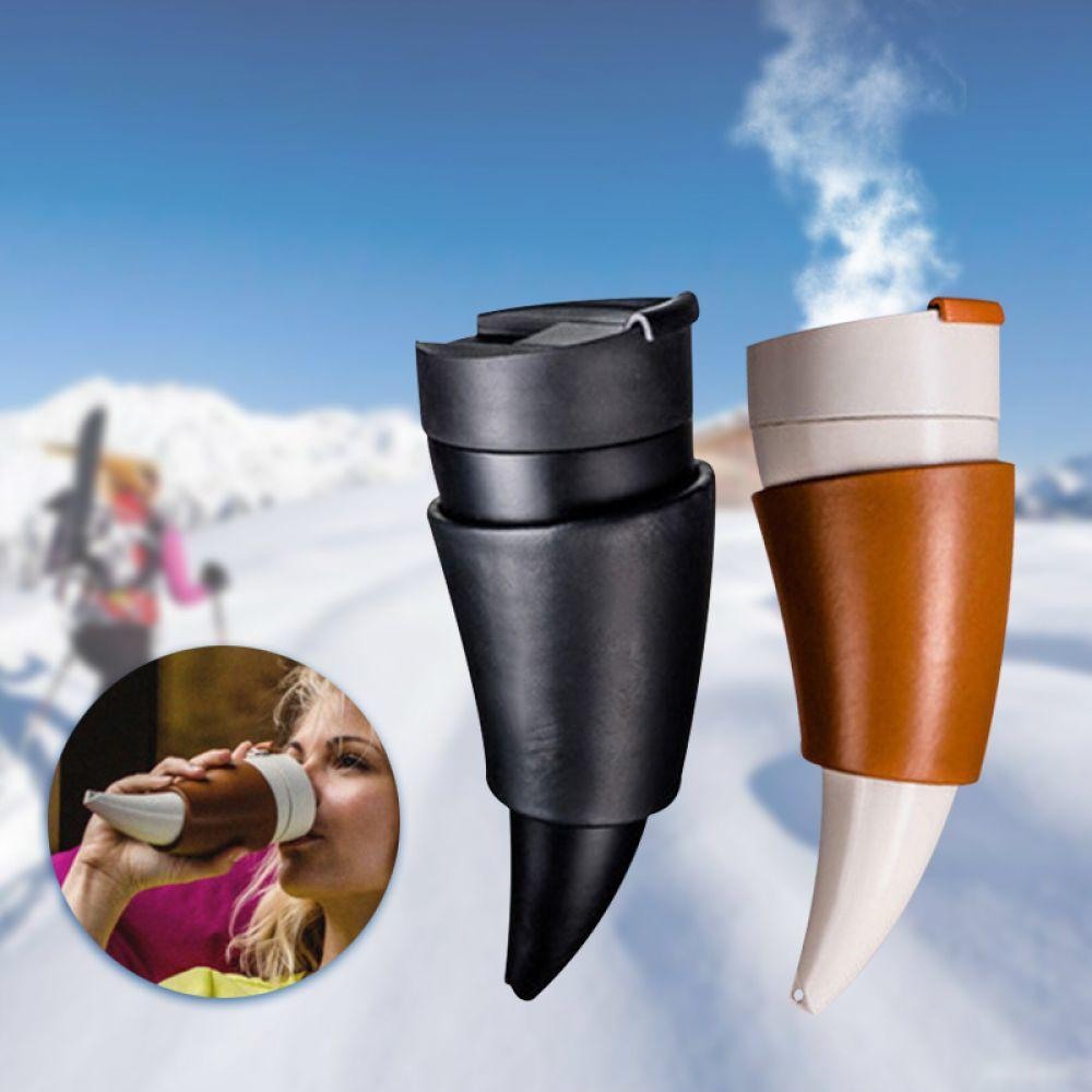 Flask Cup Insulation Stainless Traveling Goat In Water Us14 Hot Thermos Coffee Creative Horns Steel Mug Vacuum Bottle 991sets FK1TJc3lu