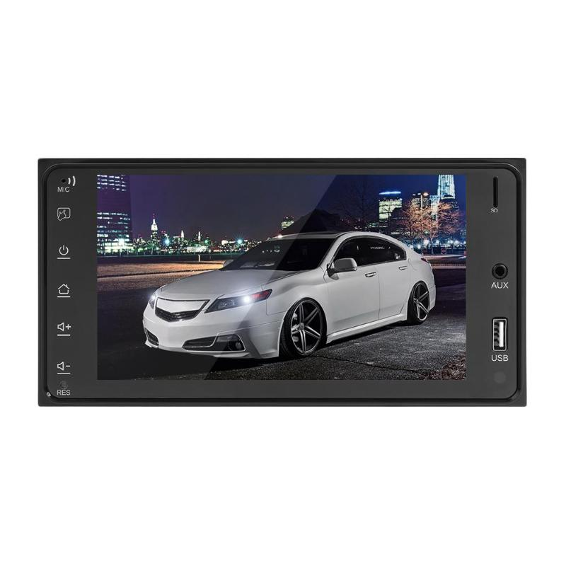 7 Inch 2DIN 1024 600 HD Touch Screen Car Stereo MP5 Player FM Radio AUX USB