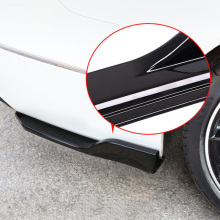 Awnings & Shelters Car Styling 1pcs Black Plastic Rear Tail Aero Wing Spoiler Cover Trim For Toyota C-hr Chr 2016 2017 2018 Bringing More Convenience To The People In Their Daily Life Exterior Accessories