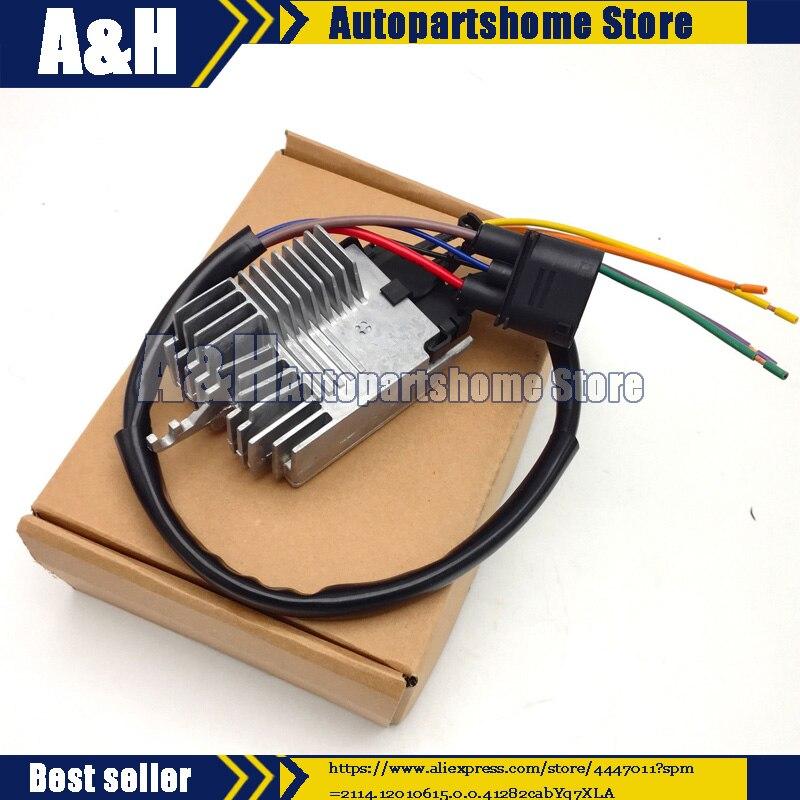 Remise à neuf 8E0959501AG MODULE de commande de ventilateur de radiateur Compatible pour AUDI A4 A4 CABRIO 8E0959501G 8E0959501K 8E0959501AB