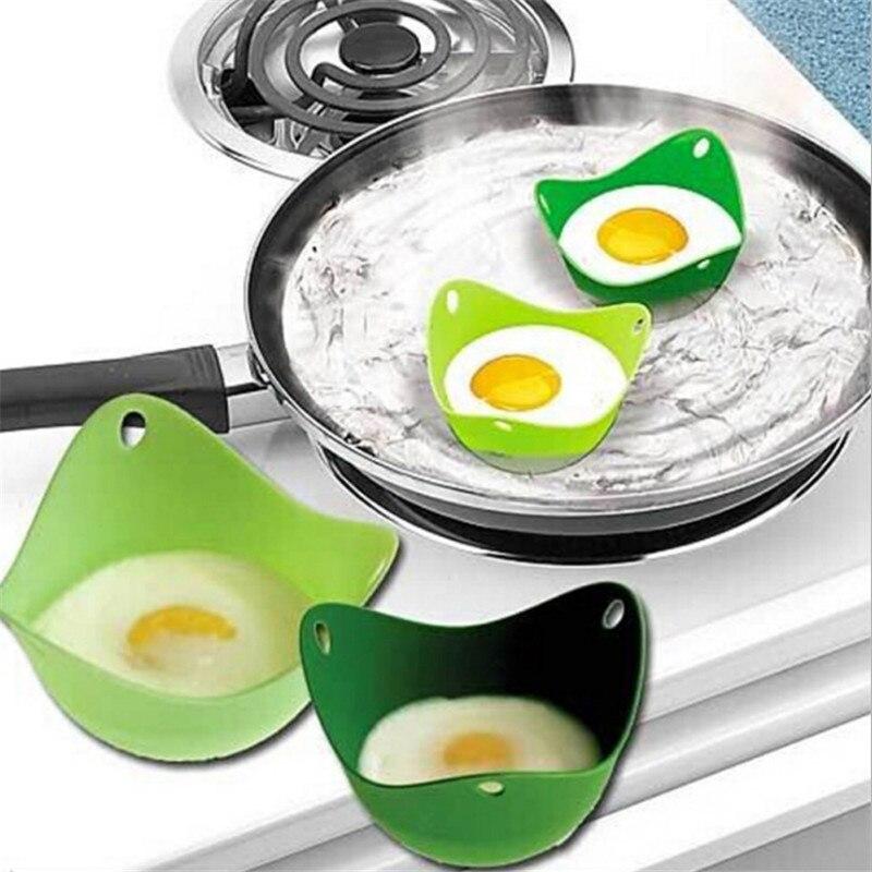 WSOMIGO 1pc Kitchen Gadgets Silicone Egg Mold Kitchen Cooking Tools Pancake Maker Poached Egg Kitchen Tool Kitchen Accessories-S