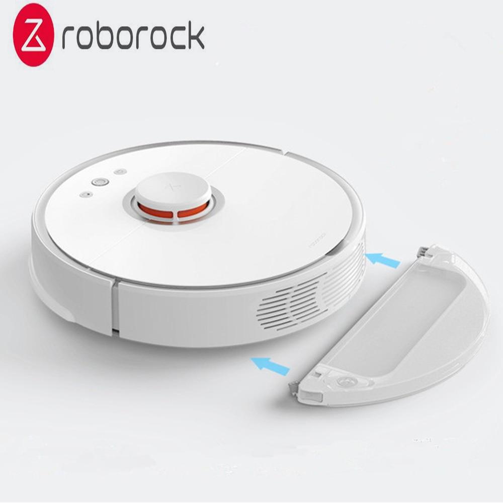 D'origine Roborock S50 Robot Aspirateur 2 Pour La Maison Automatique Balayer La Poussière Stériliser Smart Prévues À Laver Essuyant