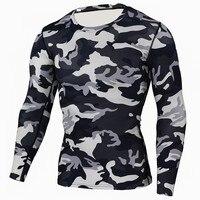 Secagem rápida ao ar livre dos homens camuflagem t shirts coolmax militar tático camisa camo exército esporte caminhadas acampamento blusas roupas de caça|Cam. caminhada| |  -