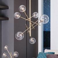 현대 LED 펜 던 트 조명 조명 로프트 LED 펜 던 트 램프 다이닝 룸 주방 디자이너 매달려 램프 Avize Lustre Kitchen Fixtures