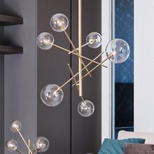 Modern LED Pendant Lights Lighting LOFT Lamp Dining Room Kitchen Designer Hanging Avize Lustre Fixtures