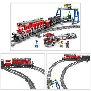 10PCs Train Tracks Non-Powered Rail Straight Curved Rail Construction Toy Compatible For LEGO MEGA BLOKS PixelBlocks