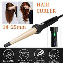 Rotating Electric Hair Salon Curler Tool Ceramic Curling Iro