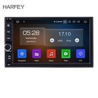 Harfey HD сенсорный экран 7 Android 9,0 2 Din Автомобильный мультимедийный плеер навигационный GPS радиоприемник для Универсальный NISSAN Toyota Kia головное у