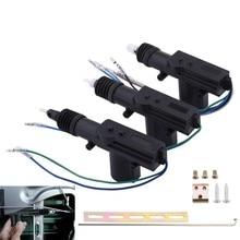 SPEEDWOW Car Auto Door Lock Actuator Motor Remote Central Alarm Security Kit 12V Single Gun Type
