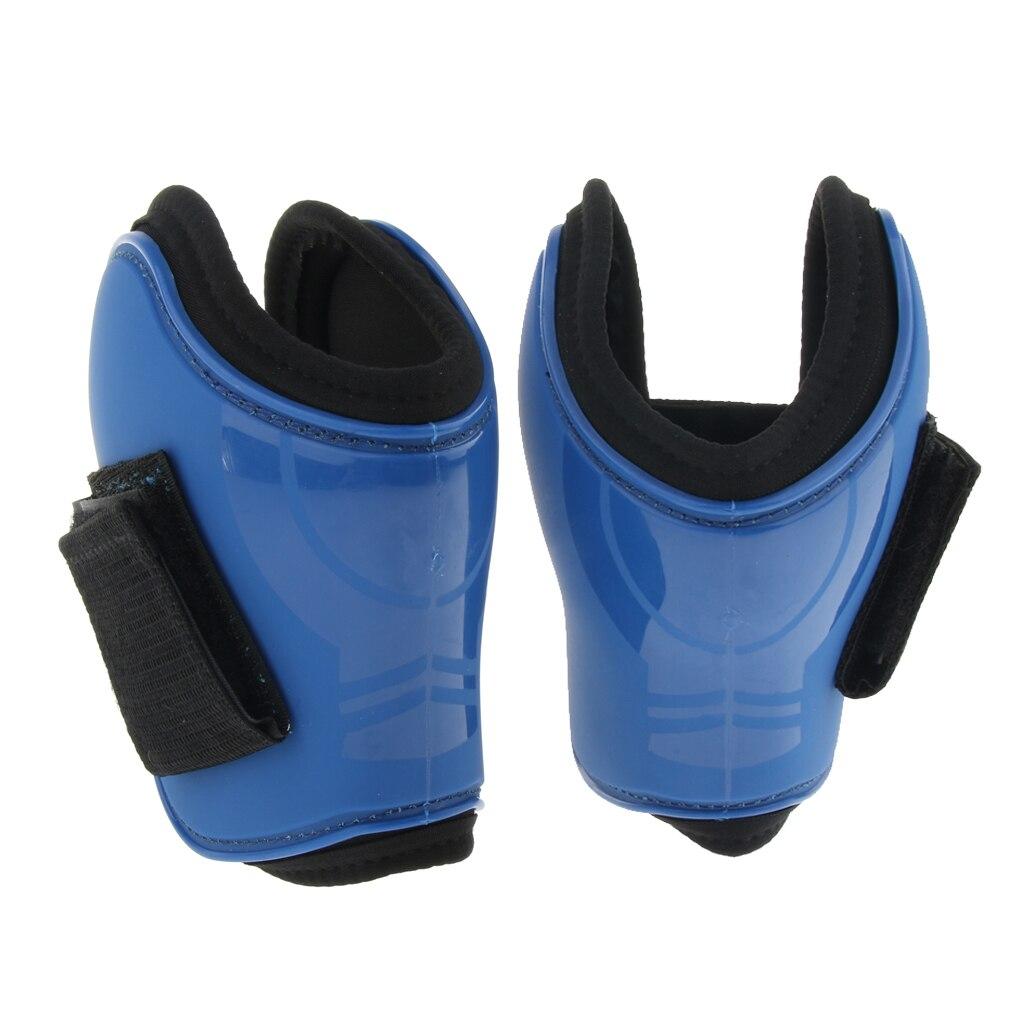 Купить с кэшбэком Neoprene Padded Open Hind Boots Horse Exercise Jumping Fetlock Boots