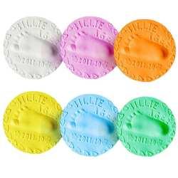 Отпечаток руки ребенка слизь мягкого пластилина сушка фиксатор запястья глиняные игрушки полимерный Пластилин след отпечаток комплект DIY