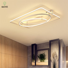 Modern Led Celling Light Loft Deco Indoor Lamp Art Contemporary Lights Living Room Bedroom Acrylic Home Lighting Fixture