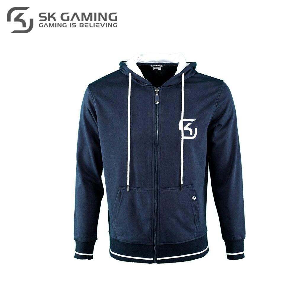Hoodies & Sweatshirts SK Gaming FSKZPHOOD17BL0000 Hoodie mens men esports DOTA2 CS:GO цена
