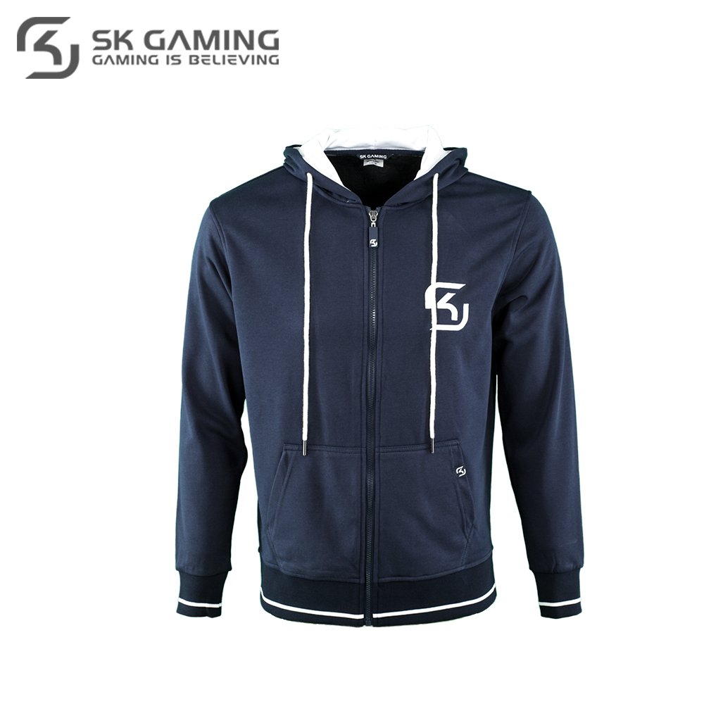 Hoodies & Sweatshirts SK Gaming FSKZPHOOD17BL0000 Hoodie mens sweater men hip-hop Cotton League of legends CS:GO esports unisex washed cotton blend golf hip hop cap sports adjustable outdoor snapback hat