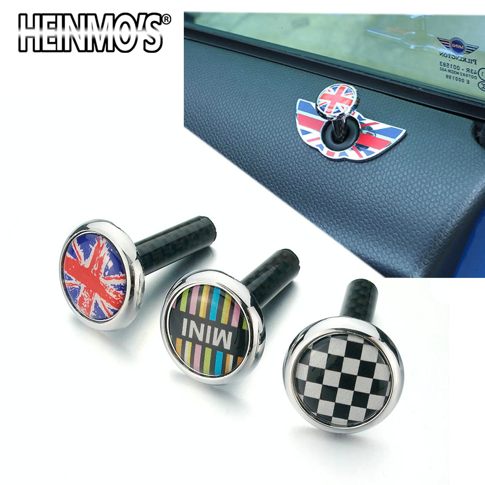 For MINI Cooper One S Countryman Clubman R50 R53 R55 R56 R60 R61 F54 F55 F60 Car Accessories Door Lock Pin Sticker For MINI F56