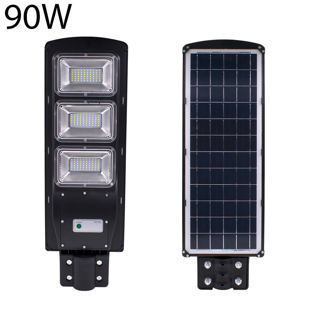 Waterproof IP67 90W Solar LED Street Light Lamps Light Radar + PIR Motion Sensor Outdoor Wall Lamp Landscape Garden Light 180led