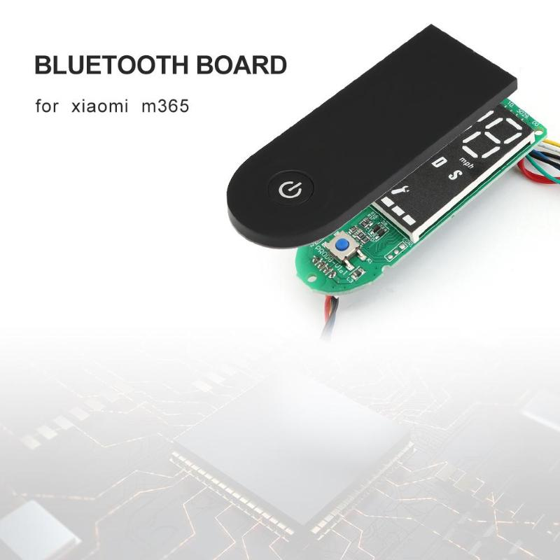 Accessories Professional Direct Fit Dashboard Parts Plug Replacement Scooter Circuit Board With Cover Durable Bluetooth For Xiaomi M365