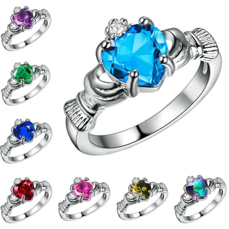 Необычное женское кольцо с белым огненным опалом, Свадебное обручальное кольцо, размер 6 9, подарок для женщин|Обручальные кольца| | АлиЭкспресс