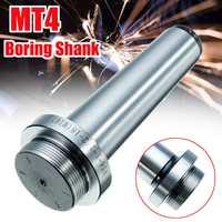 1 Pcs MT4 Chato Shank Torno Chato Bar Titular para a Cabeça Chata Rosca Barra de Tração M16X2.0P Ferramenta Chato