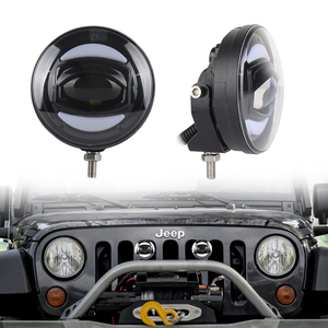 Image 5 - New White DRL 12V 30W Offroad Led Fog Light for Off road vehicle Fishing Boat Lighting