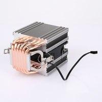 6 Copper Tube CPU Radiator CPU Fan CPU Cooler Internet Bar Quality Computer Universal
