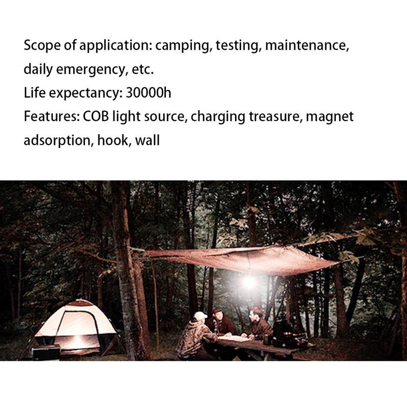 Купить с кэшбэком 30w Retro Camping Light  Emergency  Lantern  Light Rechargeable Outdoor Portable Tent Light Super Bright LED Lamp