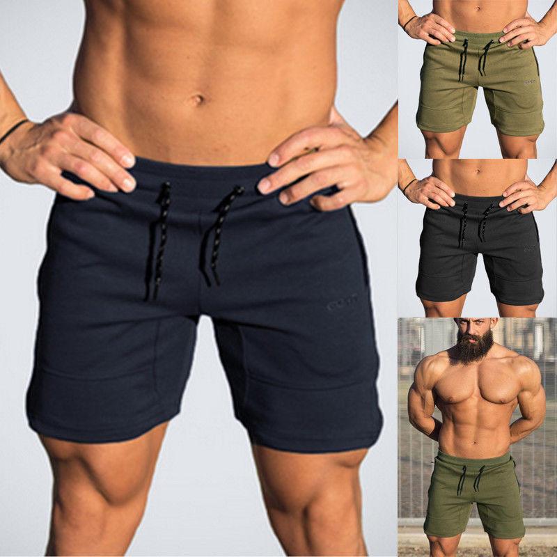 2019 New Style Fashion Hot Solid Men S Summer Sports Training Bodybuilding Shorts Workout Fitness Yoga Short Yoga Shorts Aliexpress