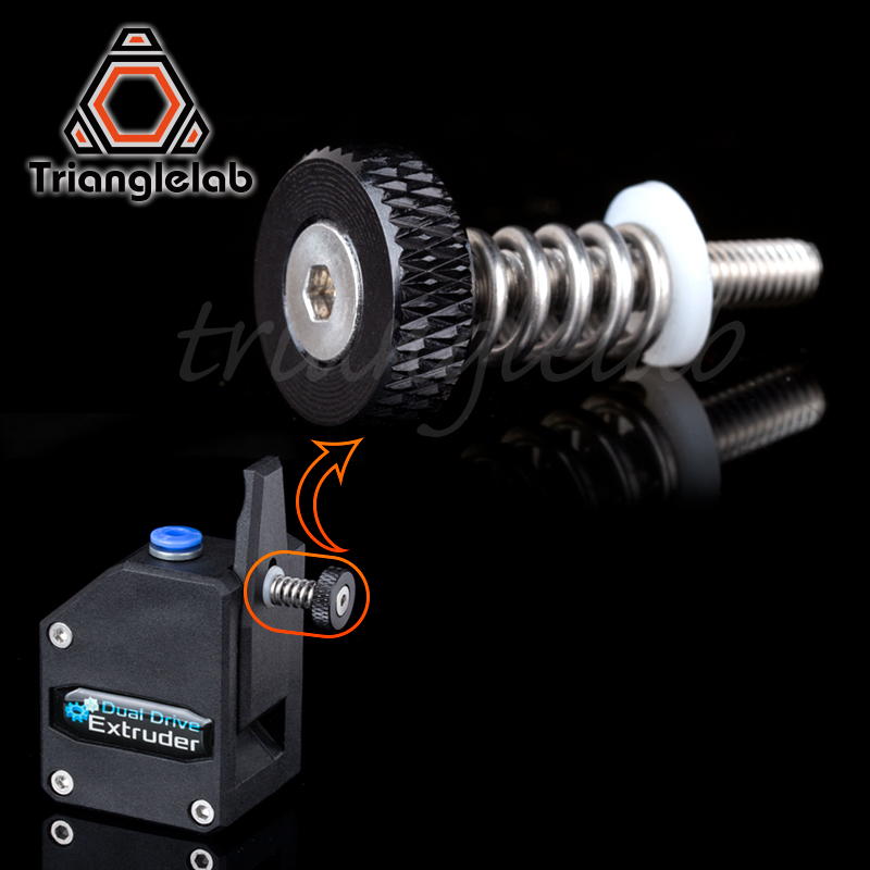trianglelab BMG THUMBSCREW ASSEMBLY for tech mini extruder Mini Bowden Extruder kit for Drivegear kit dual drive gear extrudertrianglelab BMG THUMBSCREW ASSEMBLY for tech mini extruder Mini Bowden Extruder kit for Drivegear kit dual drive gear extruder