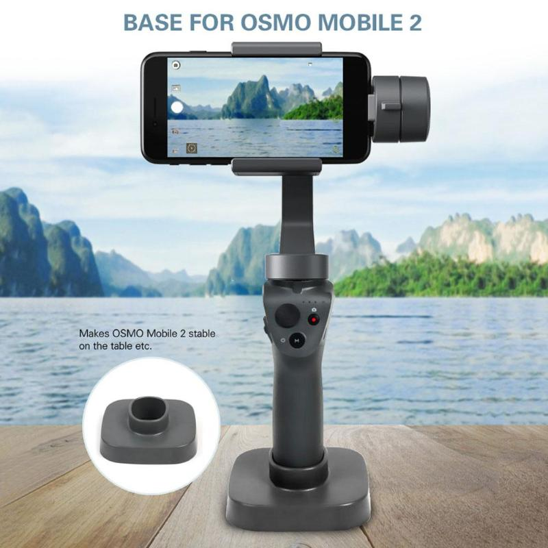 ALLOYSEED Stabilizer Base For DJI Osmo Mobile 2 Handheld Gimbal Tabilizer Base Mount Stand Fit Phone Gimbal Base Stand Accessory