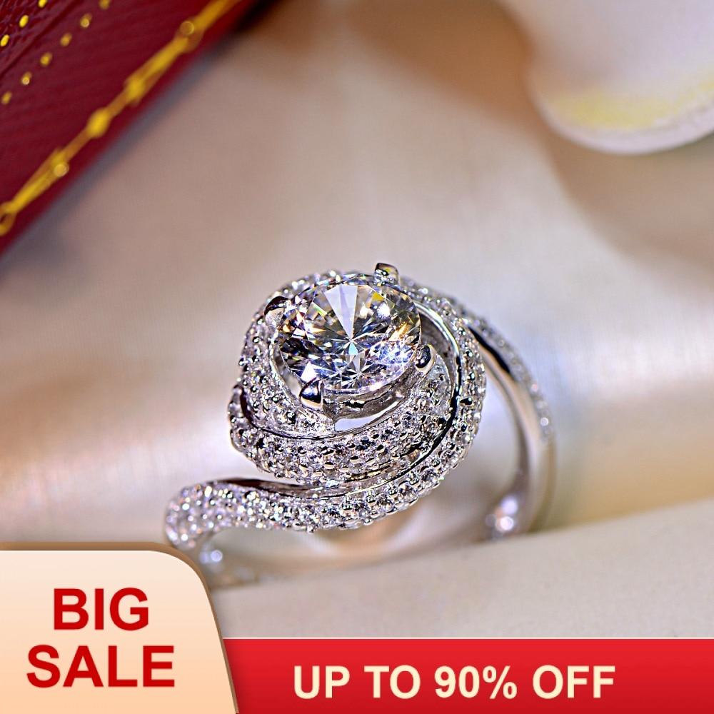 Schmuck & Zubehör Zorcvens Luxus Big Gelb Cz Ringe Weiblichen Ring Bijoux Neue Voll Weiß Zirkonia Hochzeit Verlobung Ringe Für Frauen Verlobungsringe