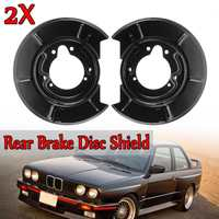 Left+Right Rear   Brake   Disc Shield Shell For BMW E30 E36 Compact Models Z3 For Coupe & Roadster Models New   Brake     System