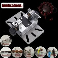 Accurate Mini Lathe Machine Tools DIY Woodworking Wood Lathe Milling Machines Grinding Polishing Bead Drill Rotary Tool Set Kit