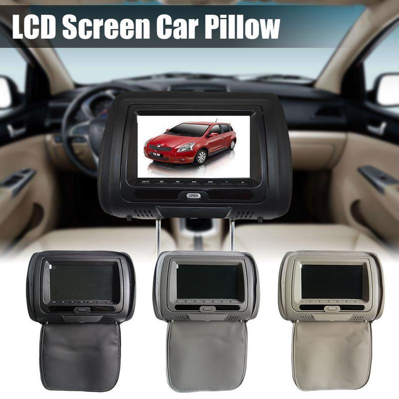 Professional Headrest Bag DVD Player Car Monitor HD Display 7