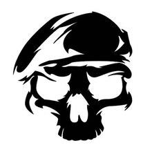 For Army Ranger Skull Sticker Laptop Phone Indoor Outdoor Car Window Truck Vinyl Decor Decals