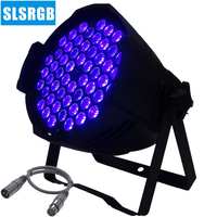 UV 3w 54pcs led par 64 led lighting lamp led par 54x3w uv led par light/disco aluminium dj stage lighting /professional light