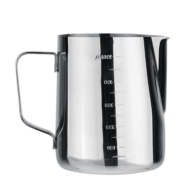 350/600ml Espresso Coffee Milk Cup Mugs Thermo Steaming Frothing Pitcher Colorful Frother Cappuccino Creamer Foam Coffee Cup