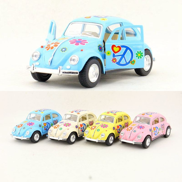 US $12 53  Free Shipping/KiNSMART Toy/Diecast Model/1:32 Scale/1967  Volkswagen Classical Beetle Special/Pull Back Car/Collection/Gift/Kid-in  Diecasts