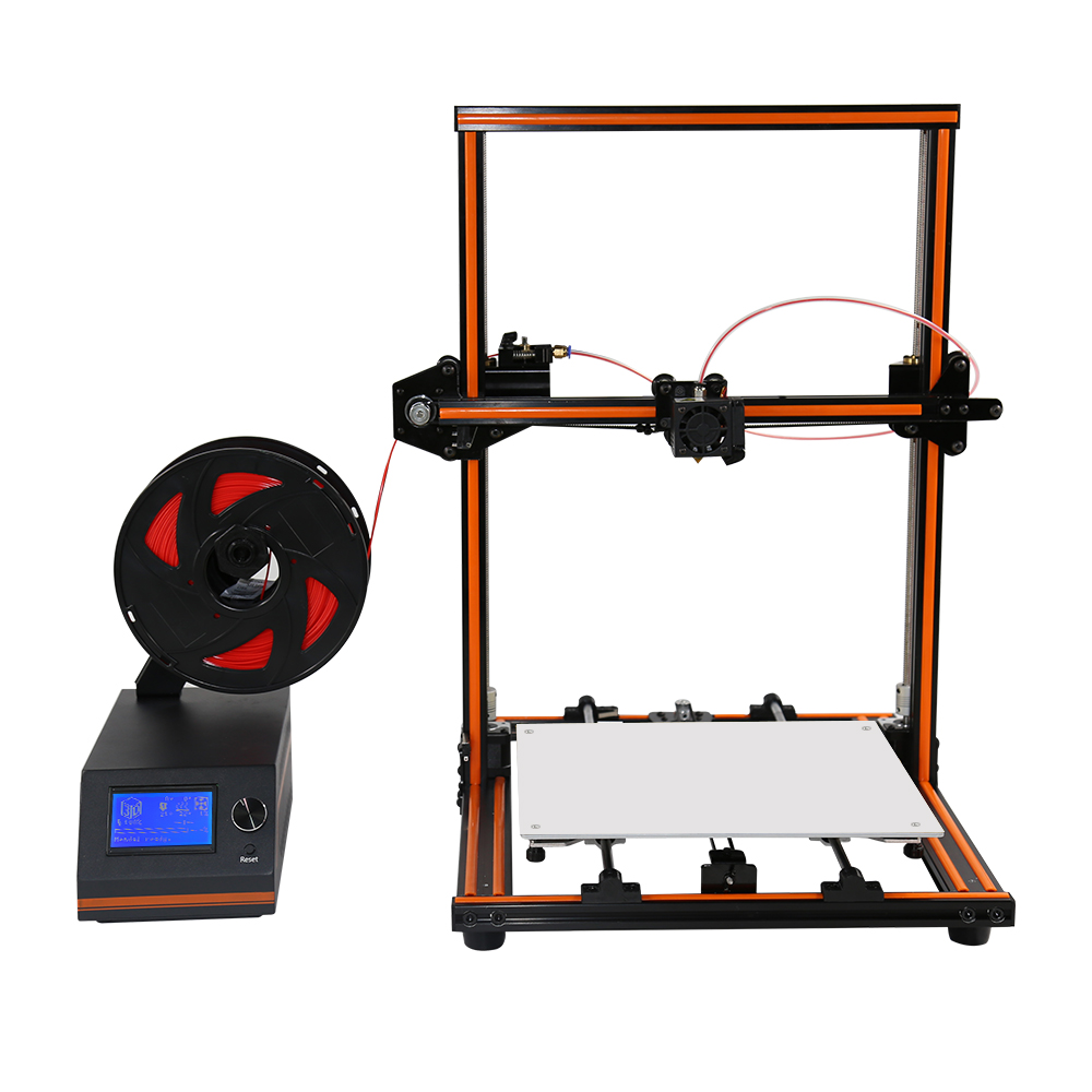 Anet E12 3D Printer Aluminium Alloy Frame Easy Assembly Large Size 300X300X400 3D Printer DIY Kit