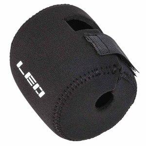 Защитный неопреновый чехол LEO, супер-светильник, прочный барабан, сумка для рыболовной катушки Sbr
