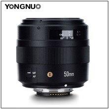 YONGNUO YN50mm F1.4N E Padrão Lente Prime 50mm F1.4 Grande Abertura Para Nikon D5 D4 D3 D810 D800 D750 d300 D7100 D7000 D5600 etc