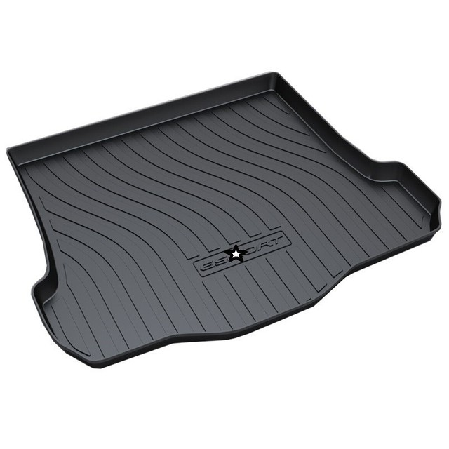 Trunk Mat Protector Maletero Coche Car-styling Cargo Liner FOR Ford Ecosport Edge Escort Fiesta Focus Kuga Mondeo Mustang Taurus