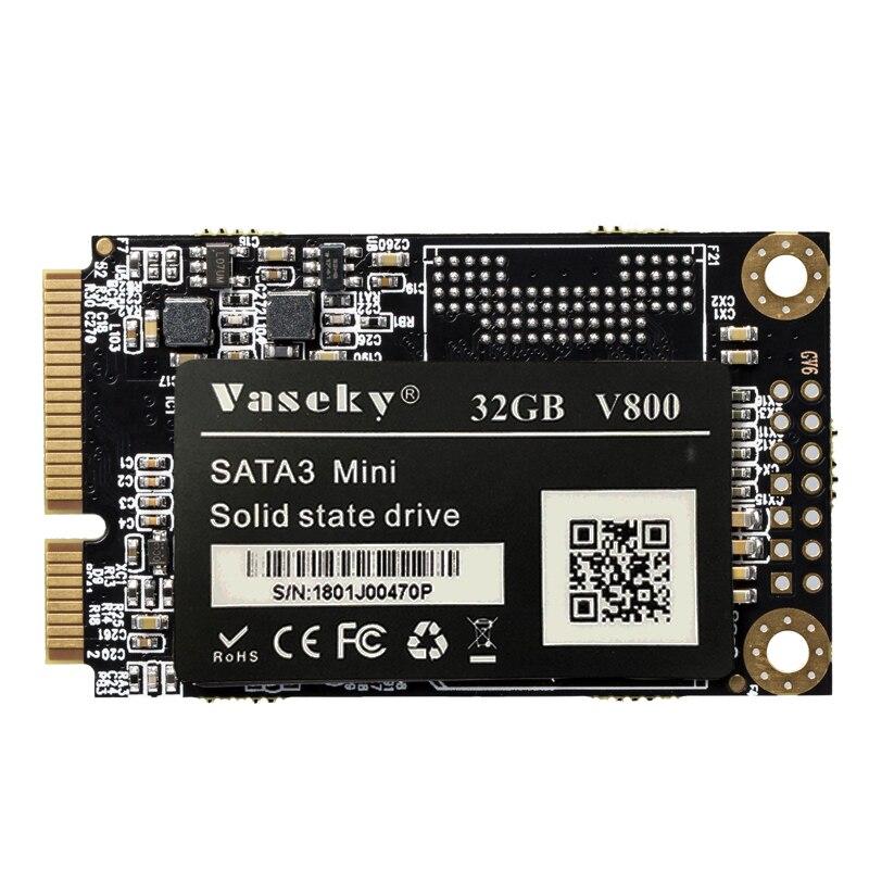 Vaseky Hard Drive Disk, Mini mSATA 3 1.8 Inch SSD Hard Drive Disk Solid State Drive For Notebook Desktop Computer